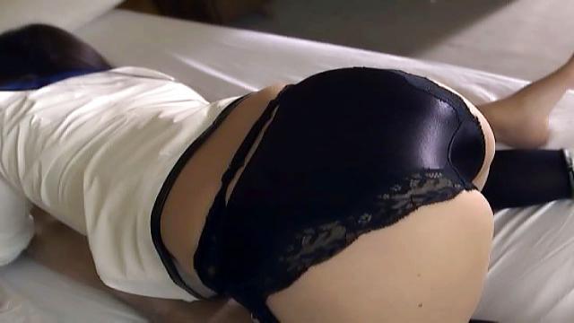Horny Japanese AV Model in cosplay porn gives a hot blowjob - Jav HD Videos