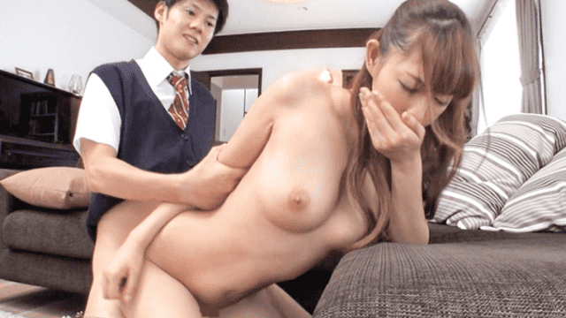 336KBI-007 Orikasa Rumi Married wife  turned over by his son is classmate