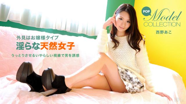 Japan Videos 1Pondo 021115_026 - Ako Nishino - Model Collection Pop
