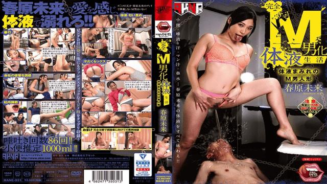 Akinori MANE-031 M Male Body Fluid Body Life Muddy M Man Doll Haruhara Future