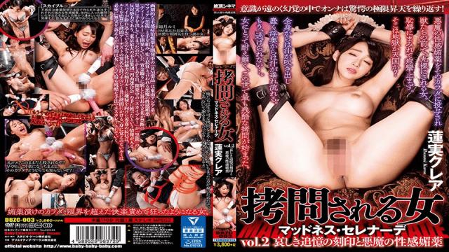BabyEntertainment DBZC-003 Claire Hasumi Tortured Woman Madness Serenade Vol.2 Sorrowful Memorial Stamp And Devil's Sexual Aphrodisiac Lotus Crea