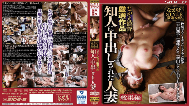 NagaeStyle NSPS-814 The Nagare Executive Carefully Chosen Work Hitched Lady Omnibus Which Was Put Out By Associate