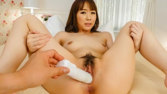 Naughty toy insertion along sweetHitomi Oki - Jav HD Videos