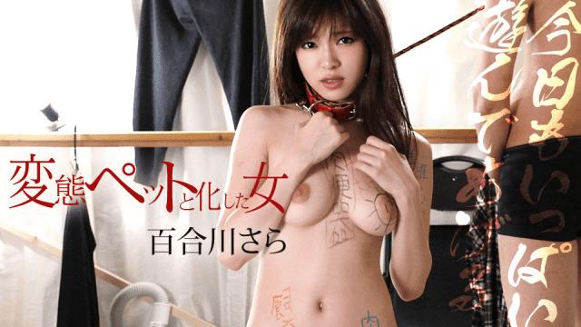 Yurikawa Sara A woman who turned into a perverted pet Caribbeancom 091019-001
