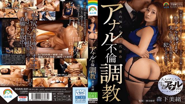 Mio Morishita Anal Affair Training Yama To Sora SOAN-041