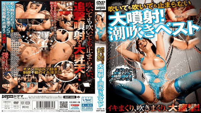 Asakura Kotomi Even If It Blows, It Does Not Stop Even If It Blows Large Jet Squirting Vest Dogma DDT-620
