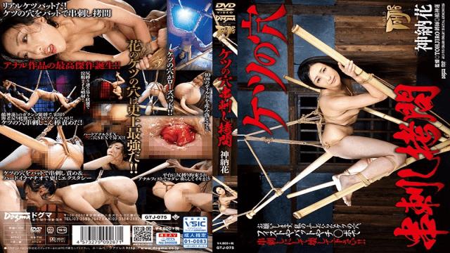 Kanou Hana Hole In The Ass Skewer Torture FHD Dogma GTJ-075