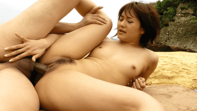 Saya Tachibana Uncensored Caribbeancom Sex on the Beach Saya Caribbeancom 050914-599