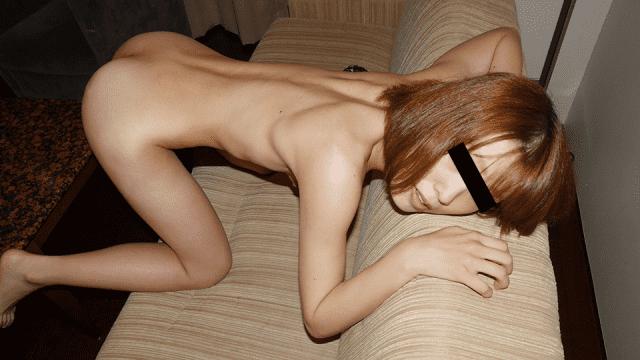 Hitomi Moriyama Look at my dildo masturbation 10Musume 110419_01