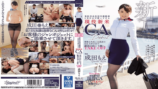 Kawaii  KANE-005 A Certain Airline Company Domestic Work Second Year Too Cute Too Much Active Citizen CA CA Debut - Jav HD Videos