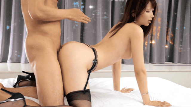 FHD Luxury-TV 259LUXU-1224 Akina Hinata Dressed in black lingerie, shaking the sweaty, tough body