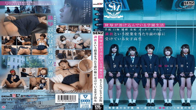 SODCreate SDDE-488 Here, Rape Is A Part Of School Life Handcuffs, Muzzles, SM, Shame, Bukkake, Creampie Sex... Breaking In A Schoolgirl Is An Accepted Part Of The Curriculum Here Saint Masochist Academy - Jav HD Videos