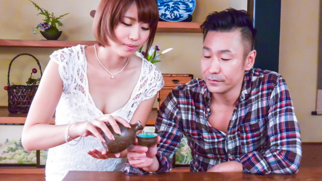 Lustful Seira Matsuoka gives top Japan blow job - Jav HD Videos