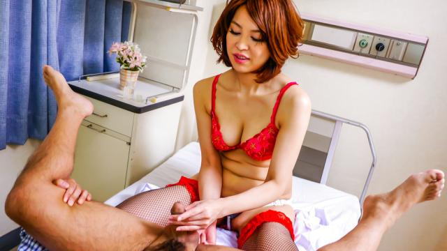 Japanese anal dildo makes Erika Nishino to go nasty - Jav HD Videos