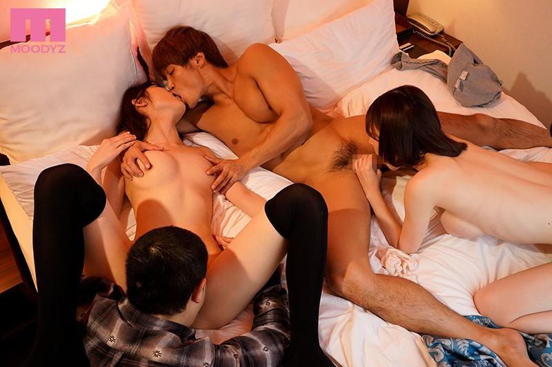 FHD MOODYZ MIAA-059 Eimi Fukada, Mika Kurosaki Swapping Girlfriends ~The Orgasmic Creampie School Life Of Couples Who Are Also Classmates