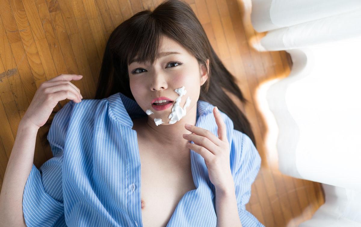 1Pondo 051819_851 Porn Jav Thick sperm single road in the face of Midori Shino