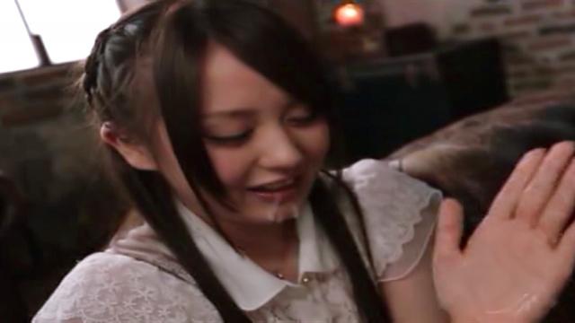 Beni Itou gives a nasty hand job indoor - Jav HD Videos