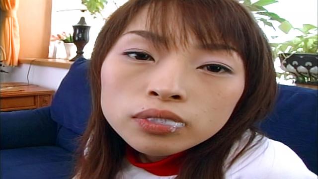 Alluring Asian teen, Hikaru Houzuki enjoys a bath and gives blowjob - Jav HD Videos