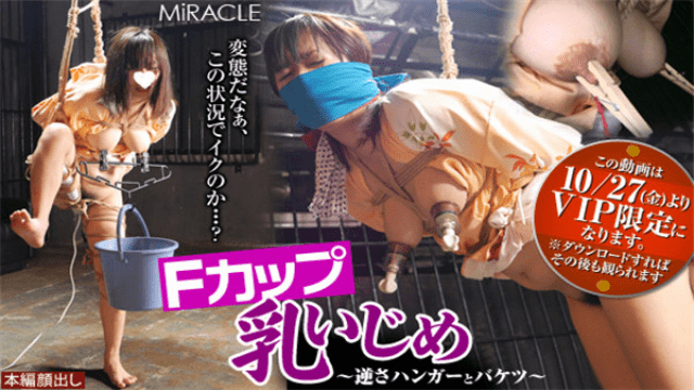 SM-Miracle e0881 Aiko F cup Breast Bullying - Upside Down Hanger and Bucket - Jav HD Videos