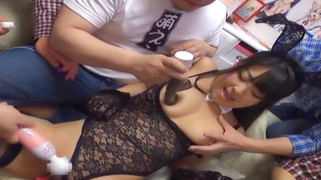 Satou Airi featured in a kinky group action - Jav HD Videos