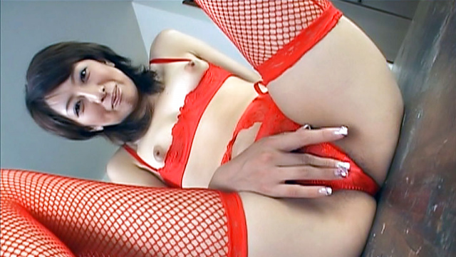 Japan Videos Beauty in red lingerie deals cock in pure scenes of porn