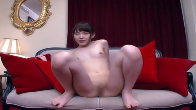 Finger fuck for sexy Asian chick Ebina Rina - Jav HD Videos
