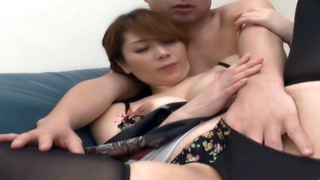 Japan Videos Chisato Shohda mature Japanese babe enjoys hot rear fucking