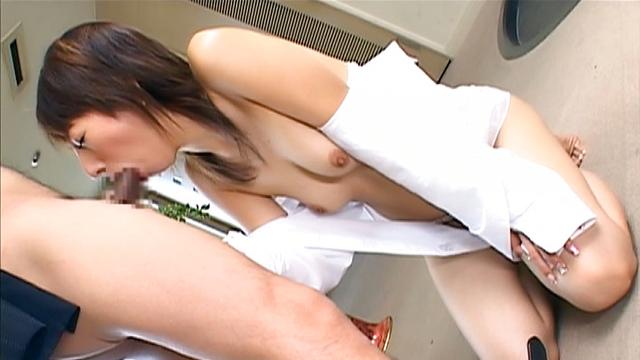 Japan Videos Cock sucking amateur milf enjoys jizz on tits and lips