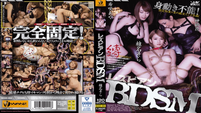 WanzFactory WANZ-694 Hot JAV Lesbian BDSM Shiina Sora - Jav HD Videos