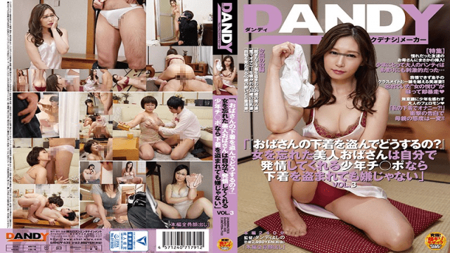 DANDY DANDY-535 What Do You Plan On Doing With My Panties So Long As There Young Cock To Be Had, Lusty Cougars Don Mind Getting Their Lingerie Swiped vol. 3 - Jav HD Videos