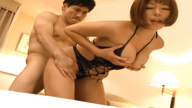 Enticing Asian milf, Sara Saijou enjoys doggy style banging - Jav HD Videos