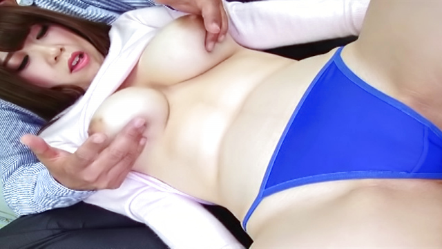 Japan Videos Hot Asian chick getting her juggs fucked