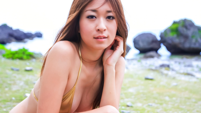 Japan Videos Japanese blowjob in outdoor with young Risa Misaki