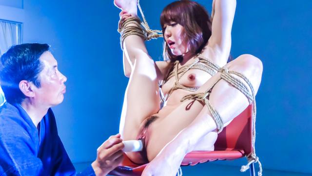 Japan Videos Japanese rope bondage along superbRina Uchimura