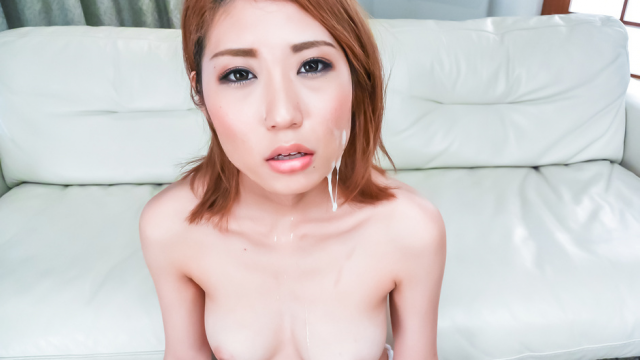 Japan Videos Kanako Kimura opens up her mouth for an asian blowjob threesome