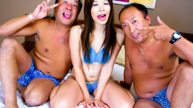 Japan Videos Rough and hardcore foursome action with Rui Aikawa