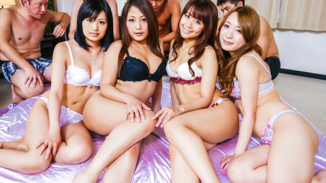 Japan Videos Rough Asianblowjob along steamy chicks inheats