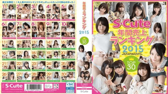 Japan Videos S-Cute SQTE-109 Yearly Top Sales Ranking Top In 2015 30
