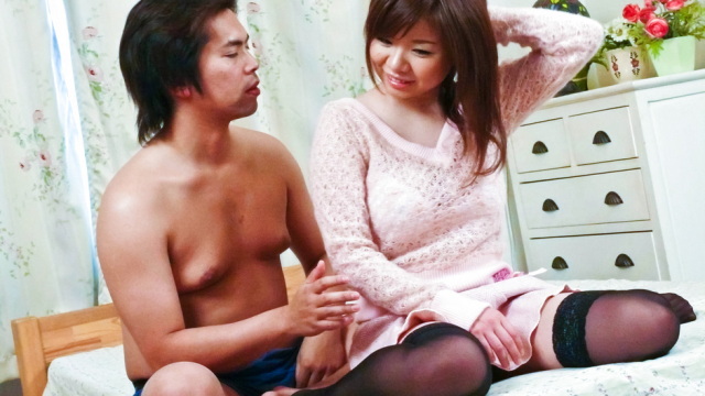 Japan Videos Sex marathon for Aoi Mizumori at hands of horny guy