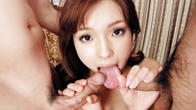 Japan Videos This hot threesome with Mei Haruka will get you jerking off