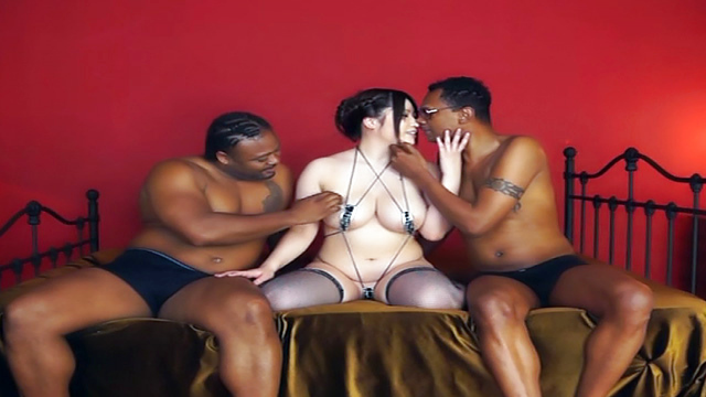 Japan Videos Threesome session with sexy babe Saegusa Chitose